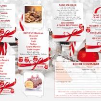 Boulangerie à joudes, gamme Noël