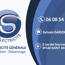 Carte de visite SG Electricité