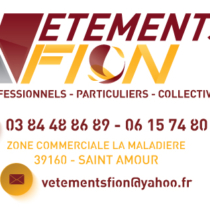 Carte de visite Vêtements Fion