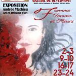 Affiche exposition Andrée Mathieu-Coron